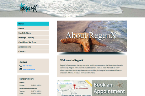 RegenX Massage Therapy